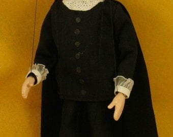 marionette Commedia dell'arte  Il Dottore ( the Doctor )