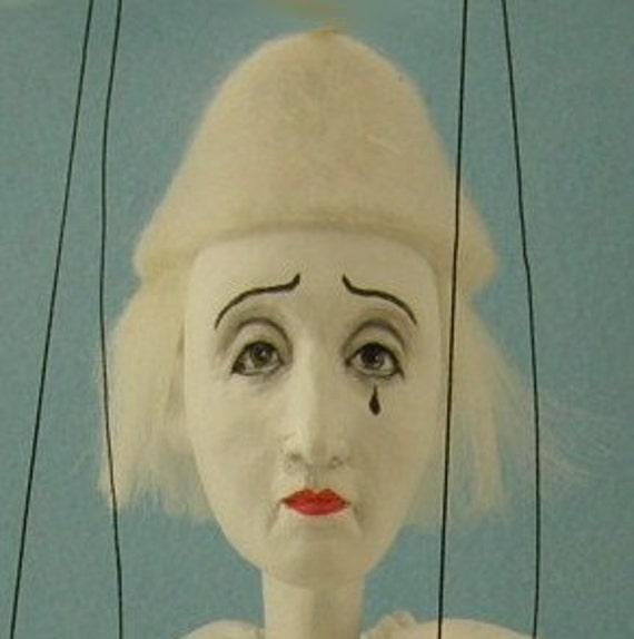 marionette Commedia dell'arte Pierrot