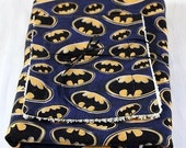 Batman Baby Blanket and Burp Set