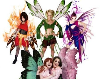Our Faeries Will Beat-up Your Faeries Photo Print