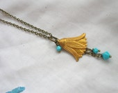 Bell  Flower Pendent Necklace