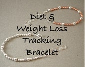 sterling TRACKER BRACELET for tracking weight loss diet exercise water