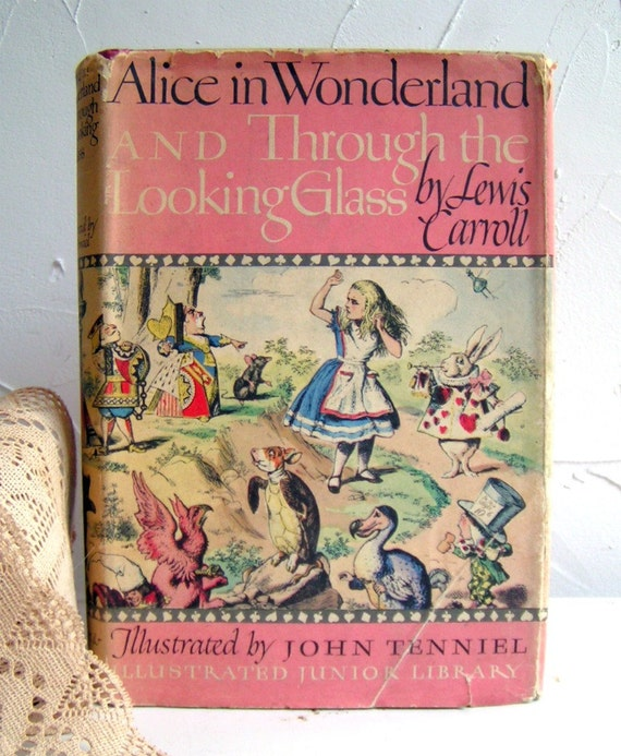John Cotton Books: 1946 Alice In Wonderland Hardcover Book By Magpiemary On Etsy