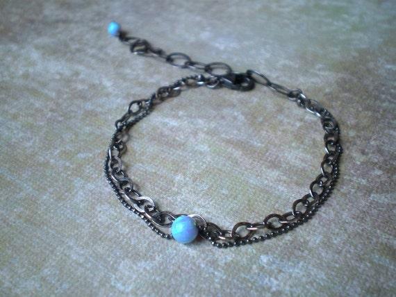 Like An Opal  Bracelet