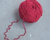Cranberry Denim Upcycled Cotton Yarn