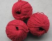 Cranberry Denim Upcycled Cotton Yarn