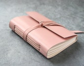 Leather Journal - Pink