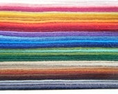 Handicraft Craft Felt Wool Mix x42 colours Rainbow