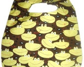Frog Chow Soak Proof Baby/Toddler Bib