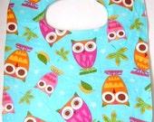 What A Hoot Baby/Toddler Soak Proof Bib