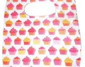 Strawberry Cupcake Soak Proof Baby/Toddler Bib