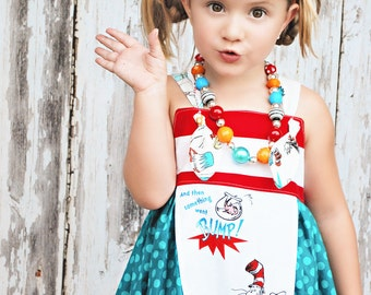 Dr. Seuss Knot Petal Dress