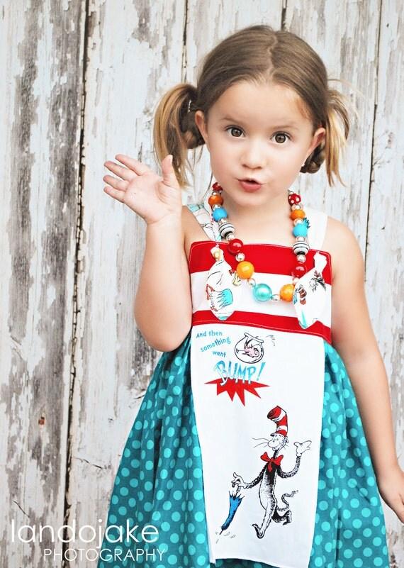 Dr. Seuss Knot Petal Dress