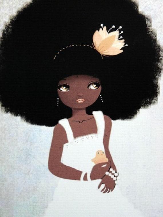 Dorothee Miss Mariage  - digital art Print
