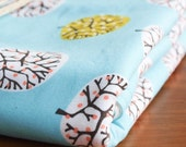 Organic Baby Blanket in SPRING ORCHARD