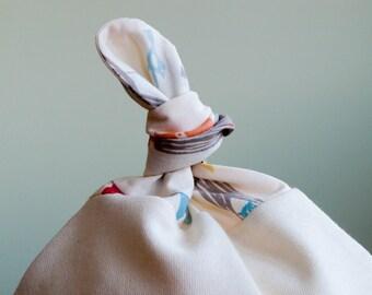Woodland Party Baby Hat; Organic Cotton Cap for Baby Boy or Girl; Modern Newborn Baby Beanie; Handmade, Unisex Baby Shower Gift under 20