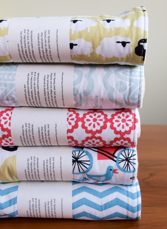 Mother's Day SPIT HAPPENS Organic Burp Cloth SALE, Taali Collection