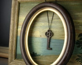 Wooden Key Necklace