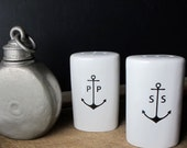 Anchor Salt and Pepper Shaker Set
