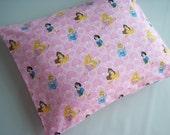 The Perfect Toddler Pillow ... Disney Princesses, Snow White, Cinderella, Aurora, Belle...Original Design by Sew Cinnamon