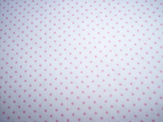 The Perfect Toddler Pillow ... Pink Polka Dots ... Original Design by Sew Cinnamon