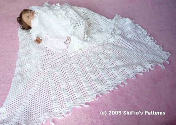 Crochet Baby Shawl Pattern Easy: Diy crochet shawl patterns to make ...