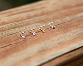 Crystal Nose Stud . NEW COLORS