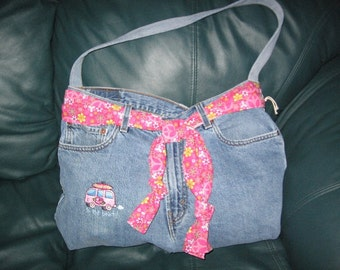 Handmade Simply Sassy - to the beach -  bag