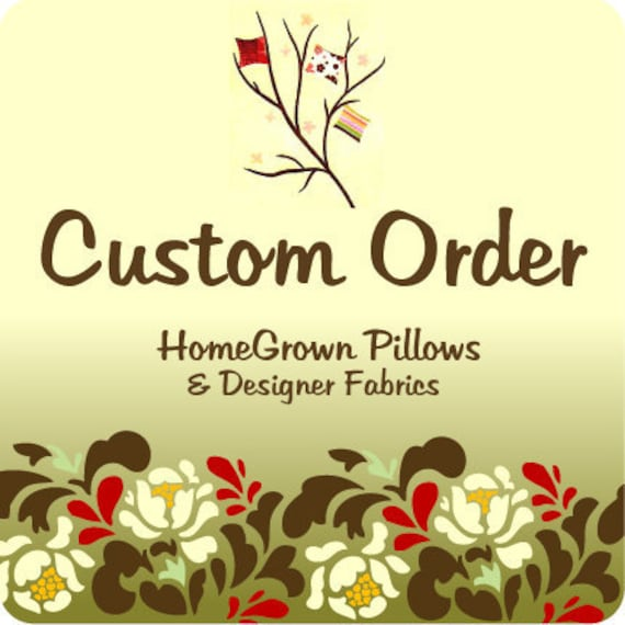 Custom Listing, Throw Pillow Cover, Premier Print, Yellow White, Bird Accent,  Home Decor Fabric, Removable Cover, Reserved for Arysobri1905