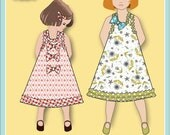 Jemima Party Dress PDF Sewing Pattern downloadable e-book (Child sizes 18 mo - 6))