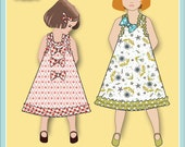 Jemima Party Dress PDF Sewing Pattern downloadable e-book (Child sizes 18 mo - 6))
