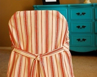 Slipcover Chic Folding Chair Cover PDF sewing pattern e-book