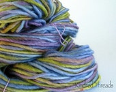 Pansy hand dyed Mexico bulky yarn