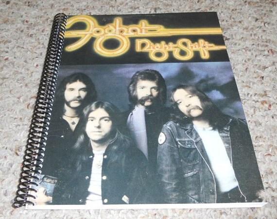 "Foghat ""Night Shift"" Original Record Album Cover Notebook"