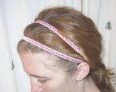 Pink Embroidered Goddess Band