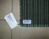 Large Green Hand Towel (with stripes) - Free Shipping