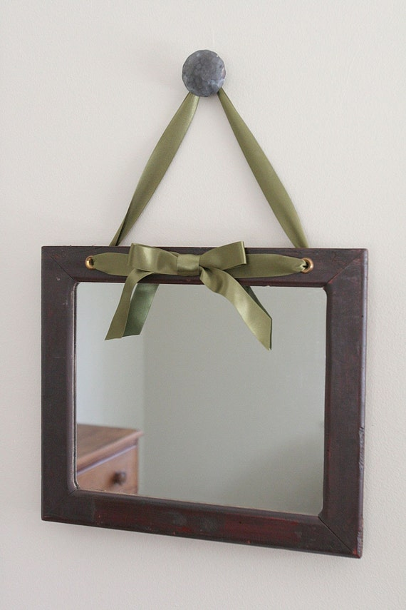 Decorative Hanging Ribbon Mirror On Sale On Sale By Rowansroom