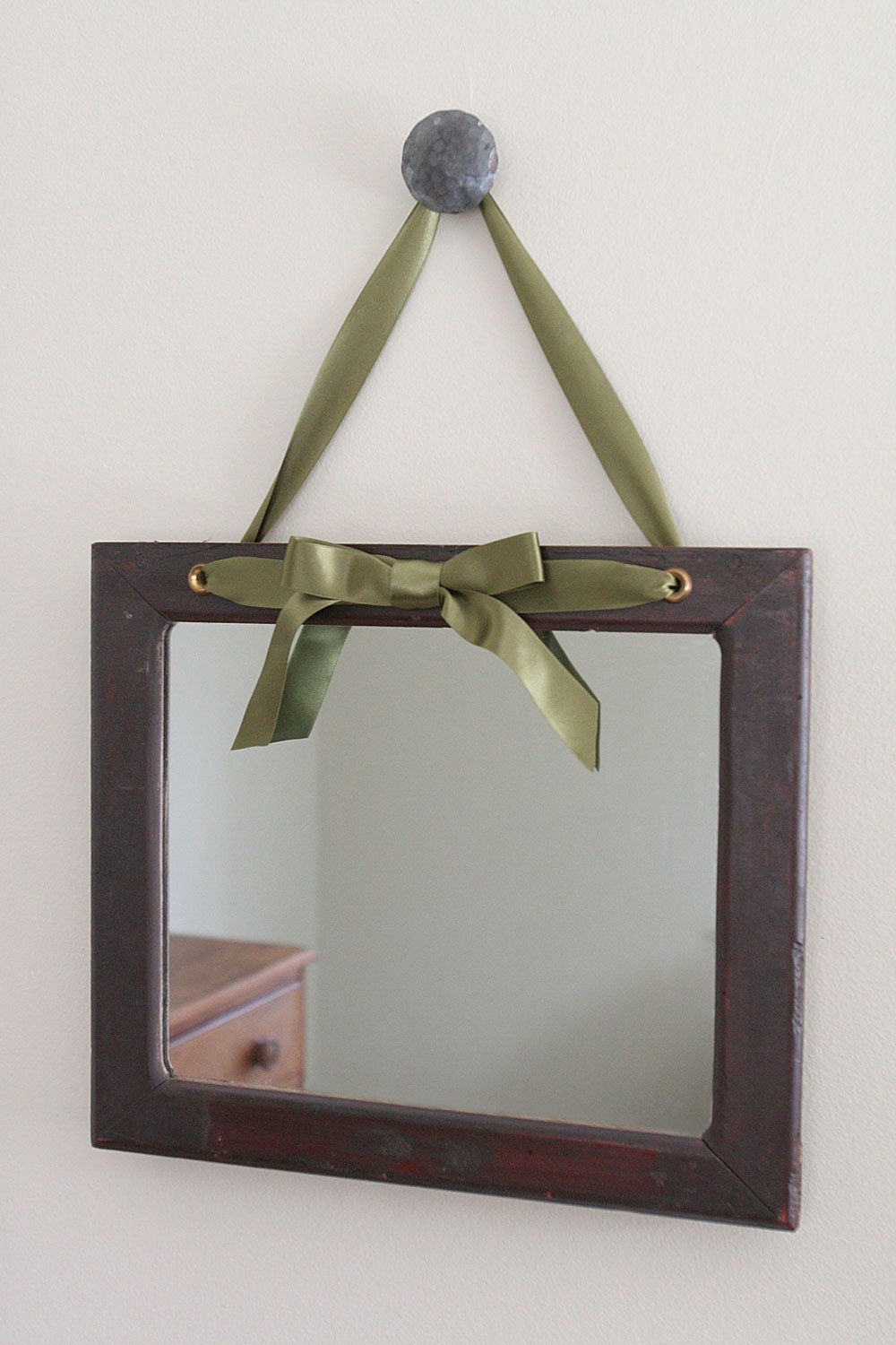 Decorative hanging ribbon mirror on sale on sale for Fancy mirrors for sale