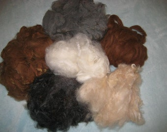 Needle Felting Alpaca Wool Eco Friendly / Needlecraft / Great for Dog fur by Fiber Artist GERRY