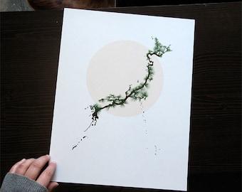 Japan Rising - art print