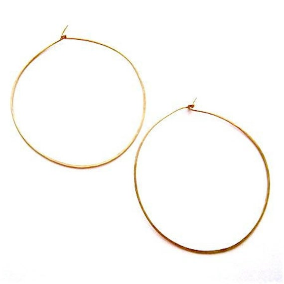 Small Vanity Hoops- Gold
