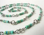 Basic Green resistor necklace