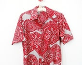 Vintage Aloha Hawaiian Shirt by Surfline Hawaii