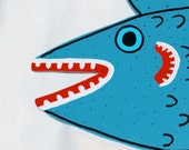 SALE -- Flat Hanging Fish
