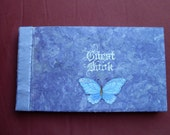 Butterfly Guest Book---Custom order for JK90