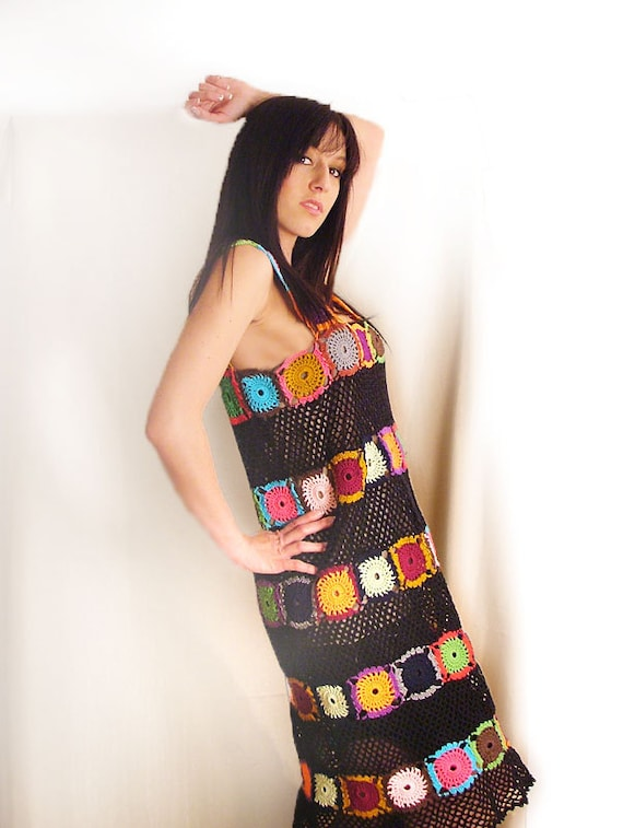 Multicolor Tunic/Dress - MADE TO ORDER
