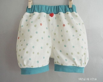 KIDS TROUSERS - Lovely Buffant Pumpkin Pants - 3 Sizes for 1Y, 2Y and 3Y