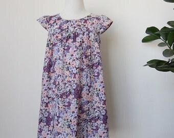 KIDS DRESS - PDF e pattern - Fuwa Fuwa dress - size 1Y