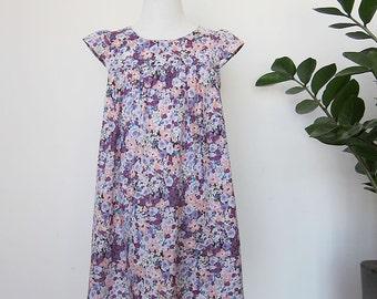 KIDS DRESS - PDF e pattern - Fuwa Fuwa dress - size 6Y