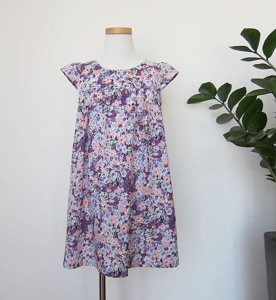 PDF Sewing Pattern - Fuwafuwa dress 6Y - Baby and kids